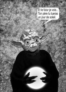 Olivier Cotte - Dark Vador vs monsieur Spock